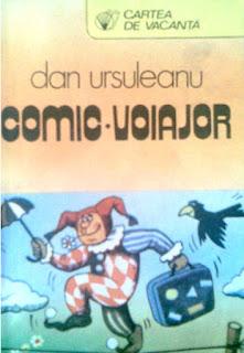 Volumul de nuvele Comic voiajor de Dan Ursuleanu