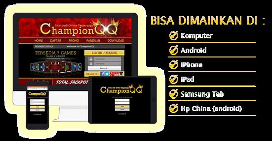 ChampionQQ Situs Judi Online Poker qq domino99 dan Bandarq