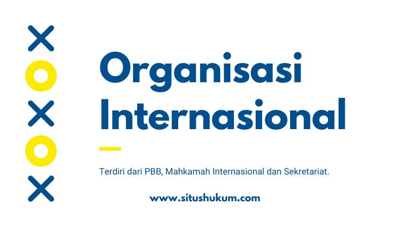 Organisasi Internasional