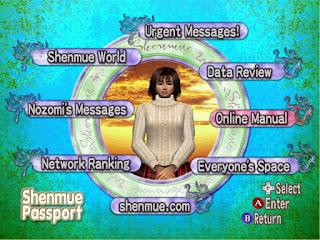 Shenmue Passport débloqué - hacké 3