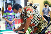 Wagub Lantik 53 Pejabat Administrator dan 126 Pejabat Pengawas Pemprov Sulut