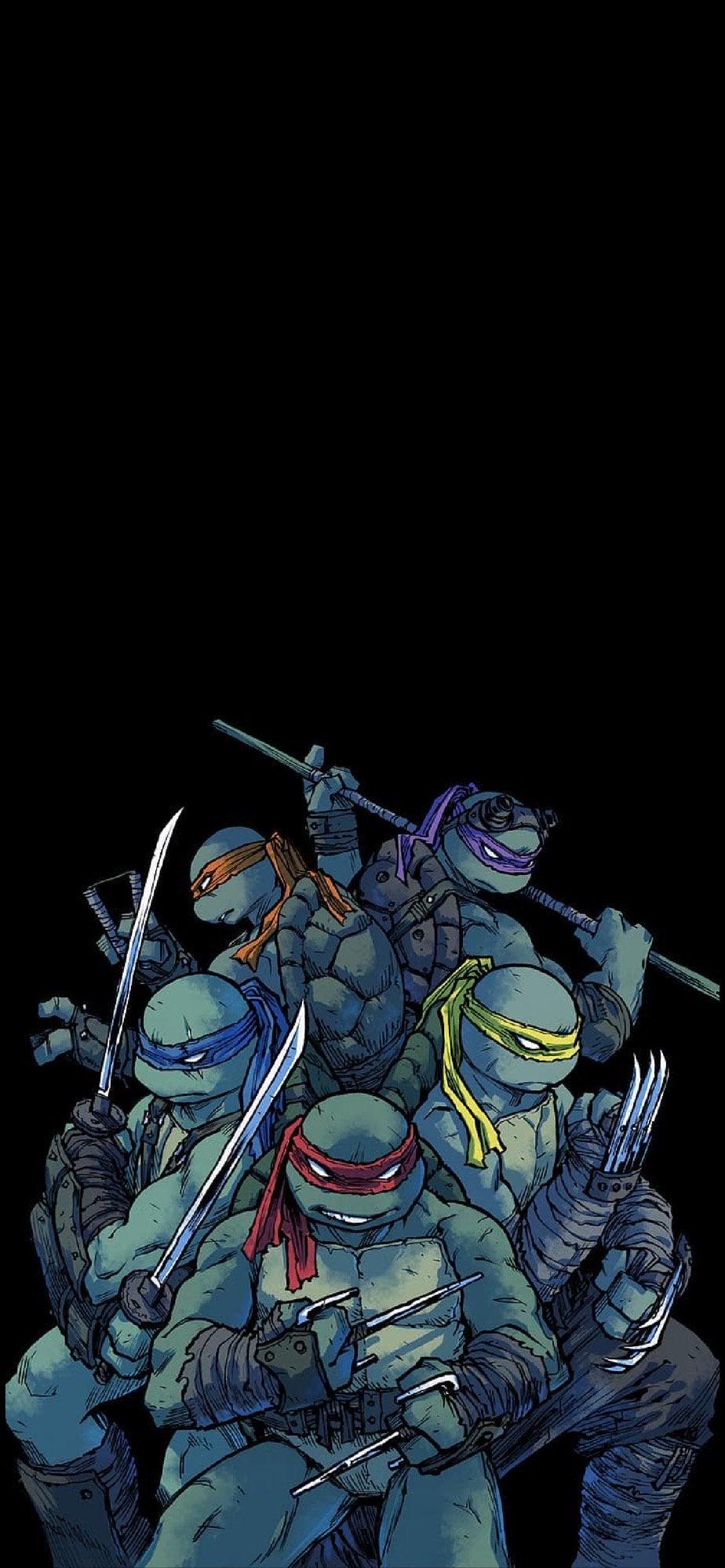 Teenage Mutant Ninja Turtles wallpaper phone