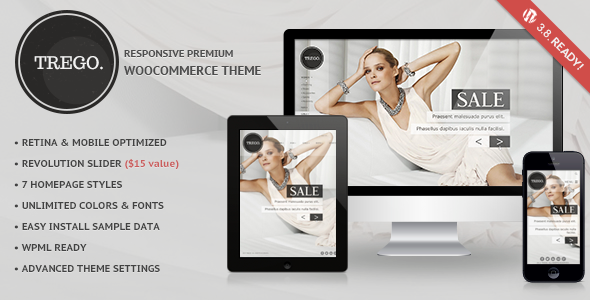 Premium Multipurpose eCommerce WP theme
