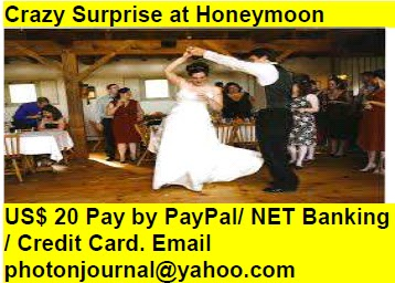 Crazy Surprise at Honeymoon Birthday Party Ring ceremony Party Rave Party Ladies Sangeet New Year Party Fresher Party Christmas Party Dance Party Office Party Fare Well Party Beer Party  book