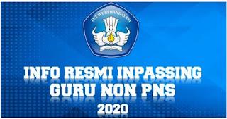 Proses Pendaftaran Online Inpassing Guru Bukan PNS Tahun 2020