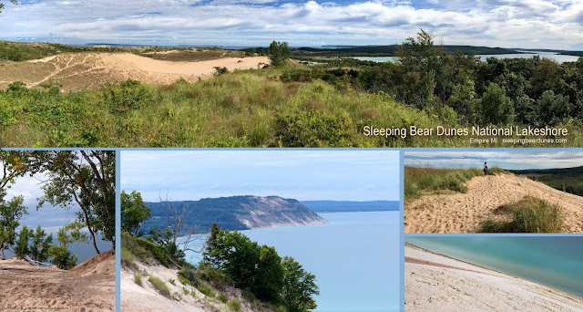 Annie Lang's photos of Sleeping Bear Dunes National Lakeshore Park just north of Empire Michigan
