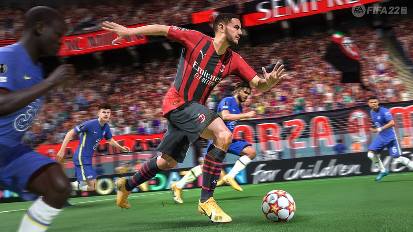 FIFA 22: Licenses - all leagues, teams and national teams