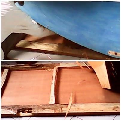 Cara Memperbaiki Pintu Rusak Triplek Terkelupas