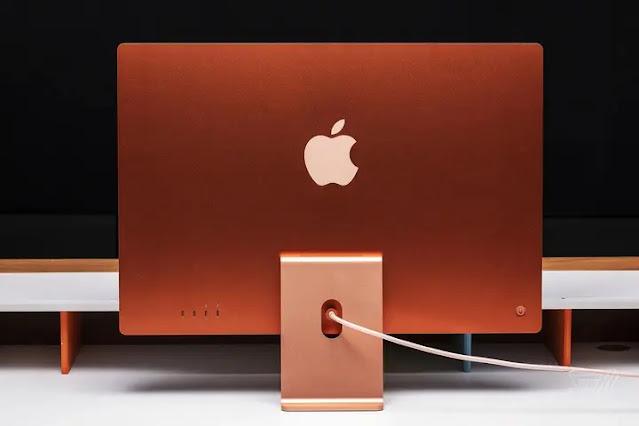 Latest iMac model from Apple.
