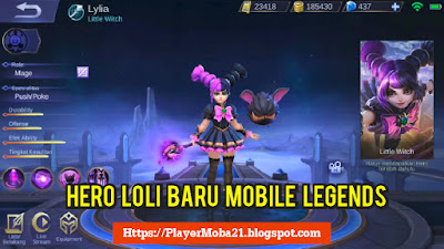 Hero Mage Baru Mobile Legends Lylia - Little Witch