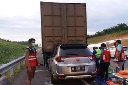 Ternyata Ini Penyebab 35 Kecelakaan yang Terjadi di Tol Pekanbaru-Dumai