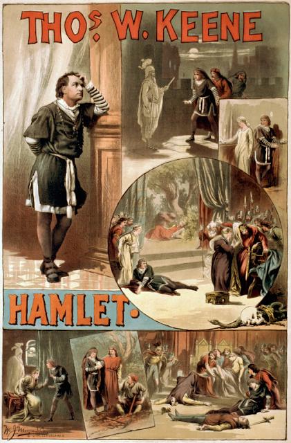 Thos. W. Keene u Hamletu