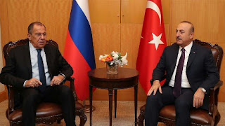 وزيرا خارجية تركيا وروسيا يبحثان تحضيرات لقاء أردوغان وبوتين
