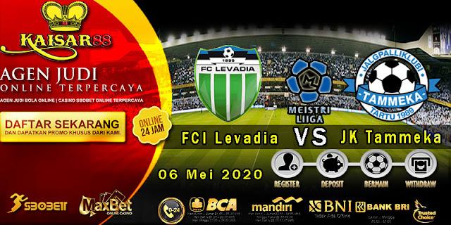 Prediksi Bola Terpercaya Liga Estonia FCI Levadia vs JK Tammeka 06 Mei 2020