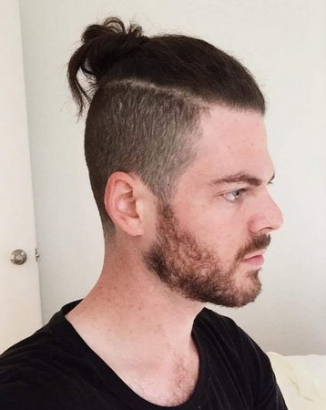 Gaya Rambut Man Bun