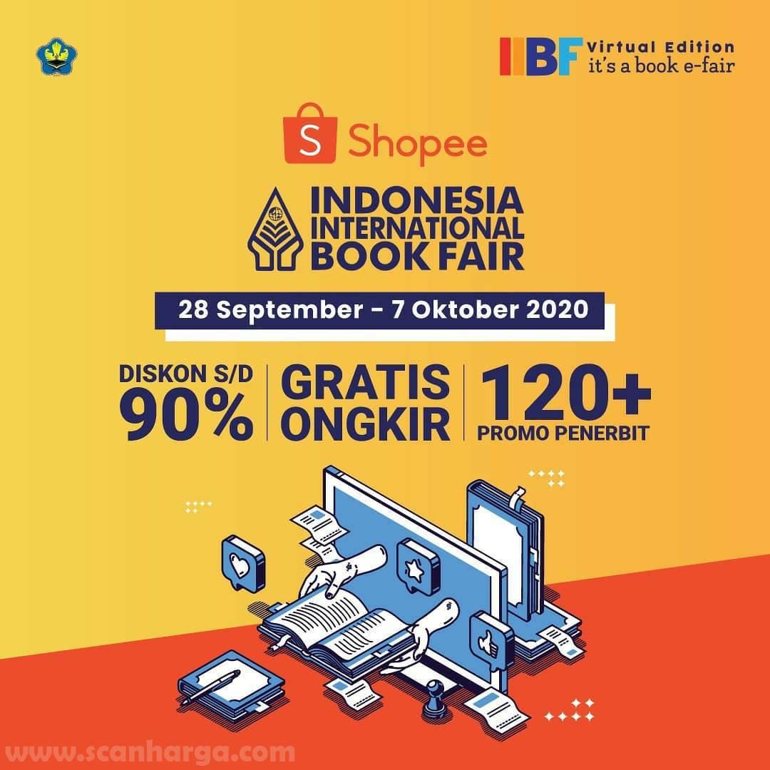 Indonesia International Book Fair √at Shopee 28 September - 7 Oktober 2020
