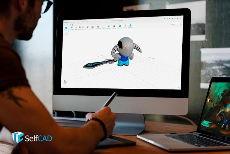 3D Modeling tool SelfCAD