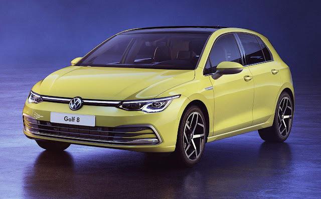 Golf Mk8 vence prêmio de design externo e interno - Alemanha