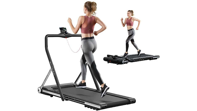 RHYTHM FUN Folding Running Treadmill
