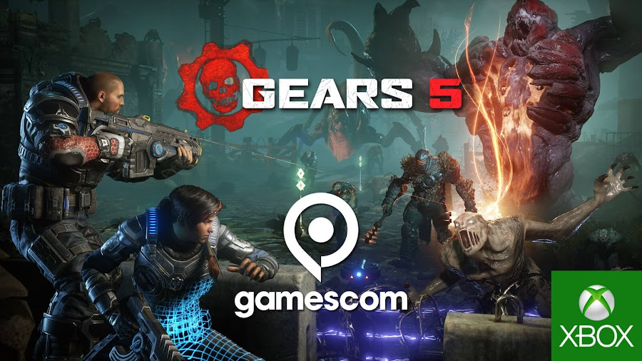 gears 5 campaign story horde mode reveal gamescom 2019 xbox one pc steam coalition