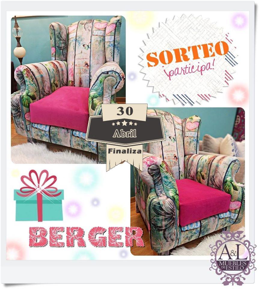 A l muebles con estilo sortea un berger con exclusivo for Muebles con estilo