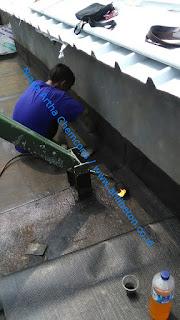 waterproofing pada dak atap beton