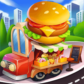Cooking Travel - Food truck fast restaurant - VER. 1.1.8.2 Unlimited (Ruby - Coin) MOD APK