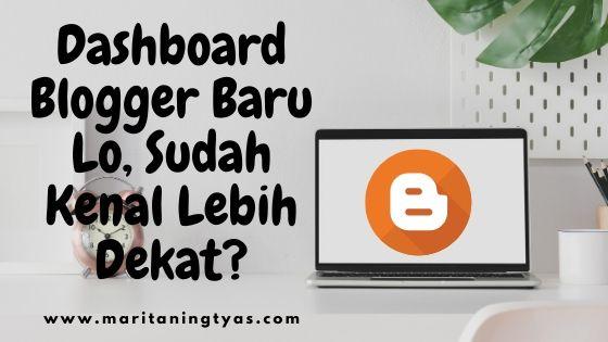 dashboard blogger baru 2020