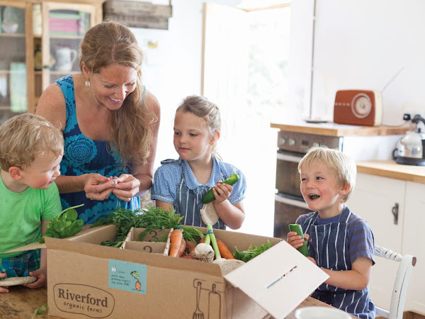 Riverford Fruit and Vegetable Box Giveaway