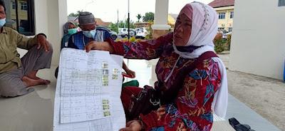 Puluhan Warga Desa Sinar Harapan MulyaTeluk Gelam Jadi Korban Penipuan Sertifikat Tanah
