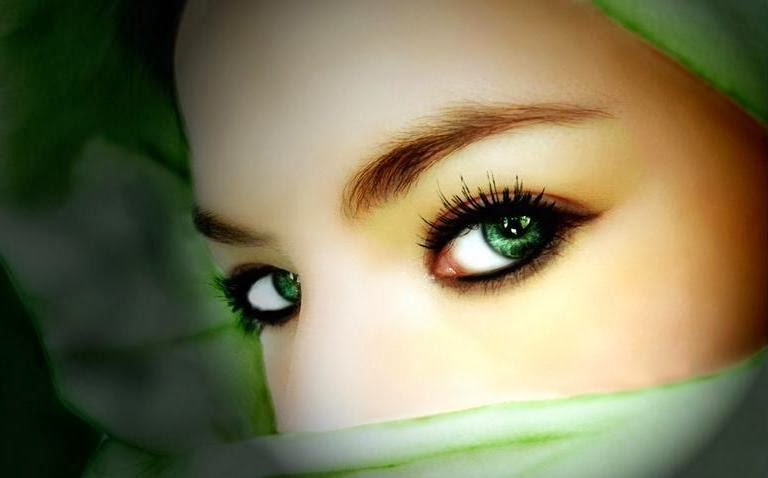 beautiful Eyes of a girl