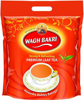 Waghbakri Premium Leaf Tea Pouch  (1 kg)