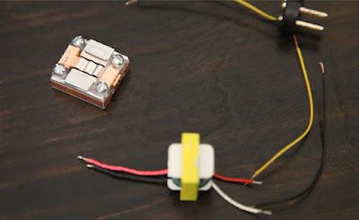 Ribbon Microphone basic parts to make a DIY Mic