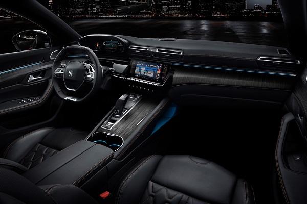 Interior Peugeot 508 2018
