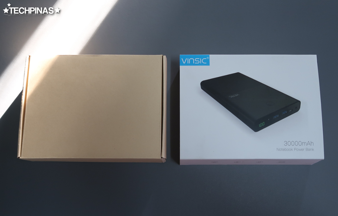 Vinsic Laptop Powerbank Unboxing