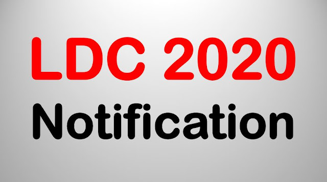 LDC 2020: PSC Notification