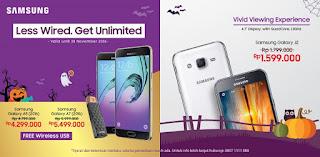 Samsung A5 (2016), A7 (2016) dan J2 Promo Terbaru di Erafone