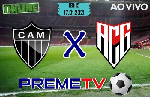 Atlético-MG x Atlético-GO Ao Vivo
