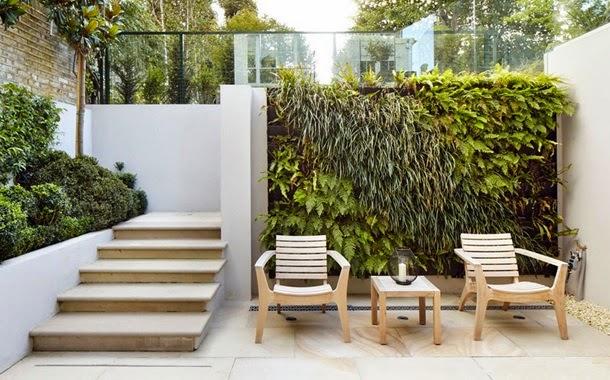 Двор-терраса, дизайн