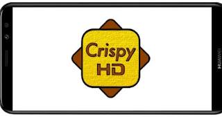 تنزيل برنامج Crispy HD Patched Mod Pro مدفوع مهكر بدون اعلانات بأخر اصدار من ميديا فاير