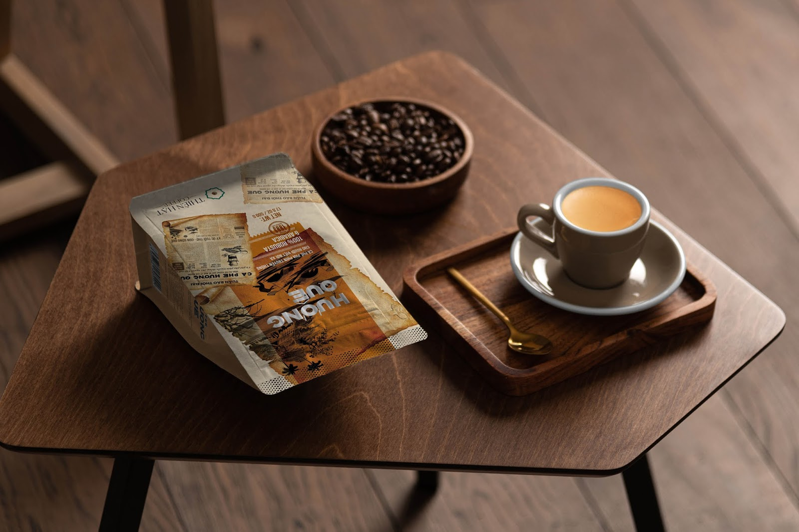Huong Que coffee