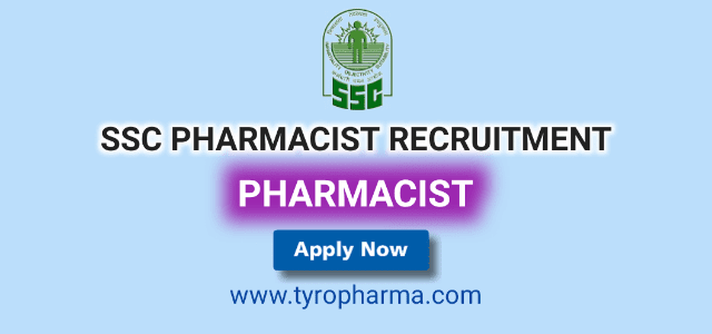 Recruitment for Pharmacists in Staff Selection Board (07 posts) – SSC Government Jobs
