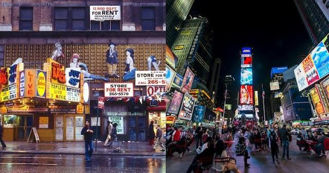 Kota begitu baik mereka menamakannya dua kali! Pada tahun 70-an, bagian-bagian New York tidak begitu bagus