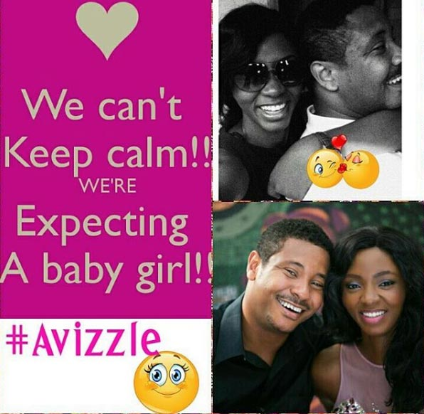 Nollywood actress Ivie Okujaye Egboh and her husband are expecting a baby!