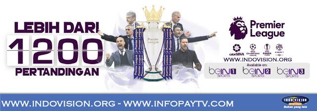 Paket Tambahan Soccer Plus Indovision