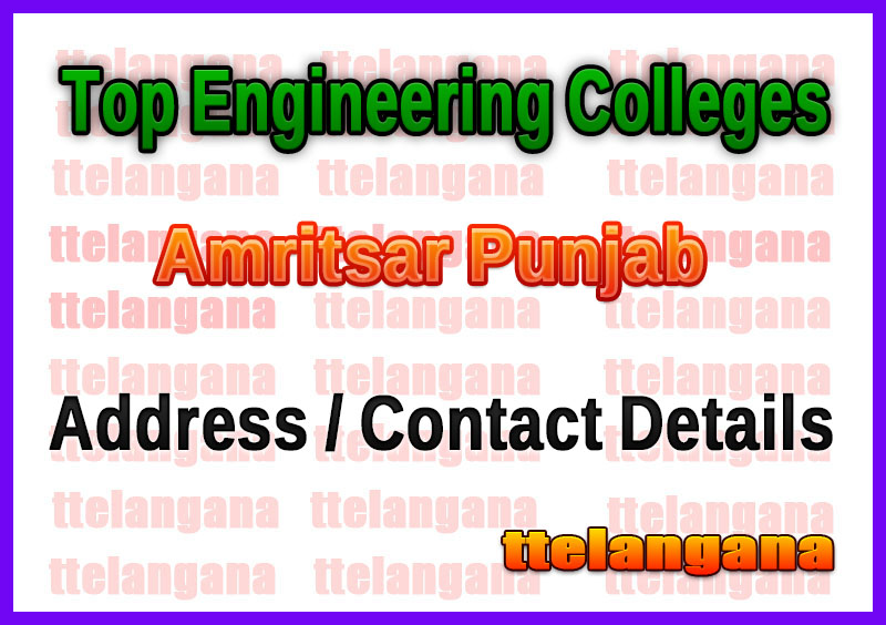 Top Engineering Colleges in Amritsar Punjab
