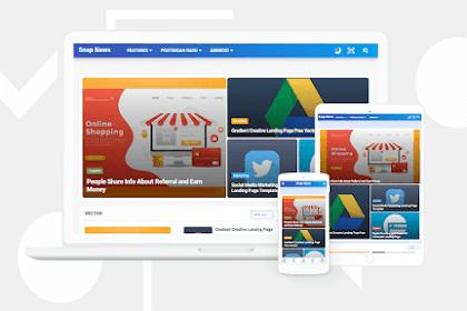 Download Gratis SanpNews Template Blogger