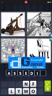 4 Immagini 1 Parola livello 456