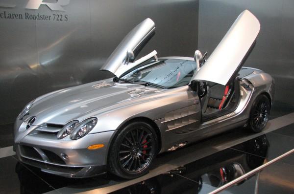Mobil Sport Terbaik di Dunia - Mercedes SLR McLaren