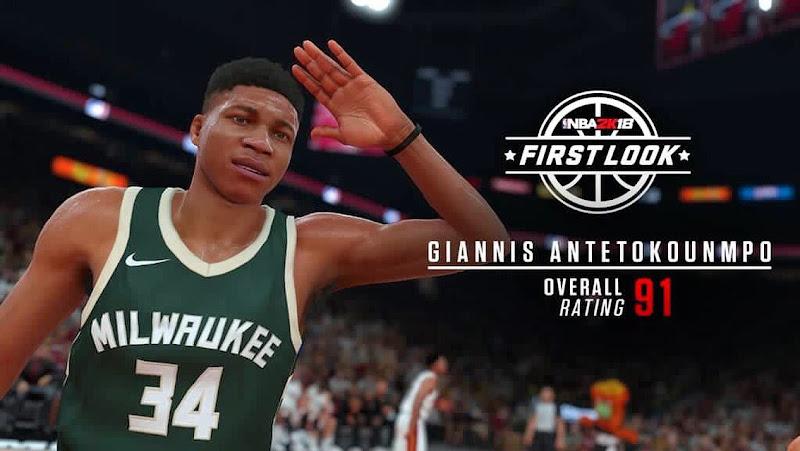 NBA 2K18 Giannis
